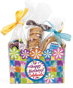BIRTHDAY - GIFT BASKET BOX OF GOURMET TREATS