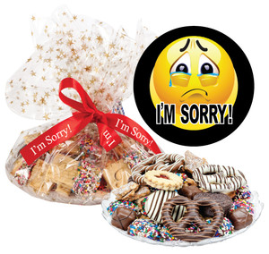 I'M SORRY!  COOKIE ASSORTMENT SUPREME - Cookies, Pretzel & Candy