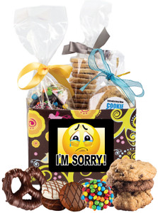 I'M SORRY! BASKET BOX OF GOURMET TREATS