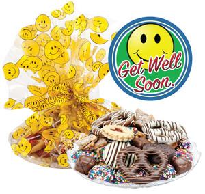 GET WELL  COOKIE ASSORTMENT SUPREME - Cookies, Pretzel & Candy