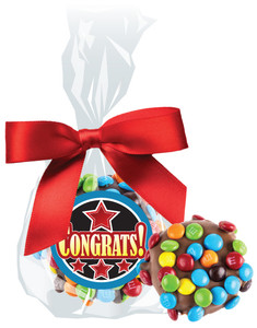 CONGRATULATIONS CHOCOLATE  OREOs w/ MINI M&Ms