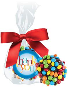 THANK YOU CHOCOLATE  OREOs w/ MINI M&Ms