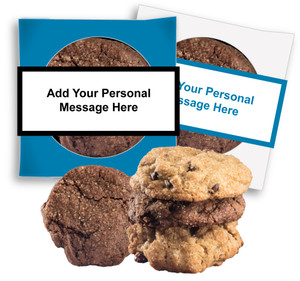 THINKING OF YOU 'CREATE-YOUR-OWN'  COOKIE SCONE SINGLES W/ MESSAGE