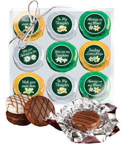 "THINKING OF YOU ""COOKIE TALK"" CHOCOLATE OREO 9 Pc. BOX"