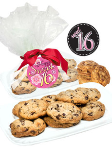SWEET 16  CHOCOLATE CHIP COOKIES