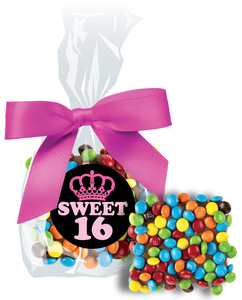 SWEET 16  CHOCOLATE GRAHAMS W/ M&Ms