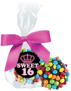 SWEET 16  CHOCOLATE  OREOs W/ M&Ms