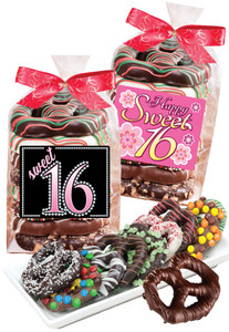 SWEET 16  PRETZEL BAG