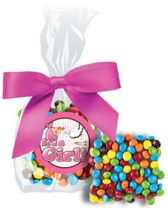 ITS A GIRL! CHOCOLATE GRAHAMS W/ MINI M&Ms
