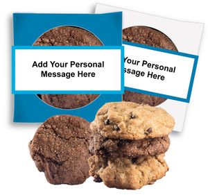 ITS A BOY! 'CREATE-YOUR-OWN'  COOKIE SCONE SINGLES W/ MESSAGE