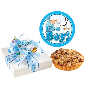 BABY BOY  COOKIE PIE PETITE FAVOR - SPECIAL ORDER