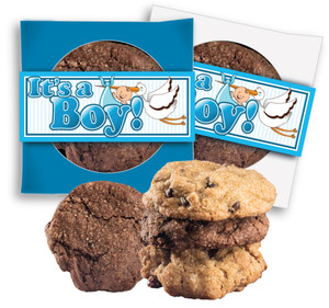 ITS A BOY  COOKIE SCONE SINGLES
