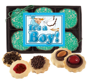 BABY BOY BUTTER COOKIE GIFT BOX