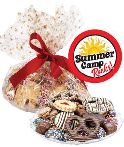 SUMMER CAMP COOKIE ASSORTMENT SUPREME - Cookies, Pretzel & Candy