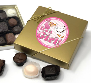 BABY GIRL CHOCOLATE CANDY BOX
