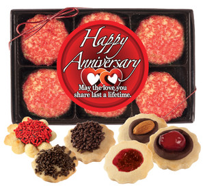 ANNIVERSARY BUTTER COOKIE GIFT BOX