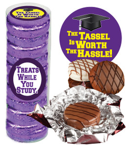 "BACK-TO-SCHOOL ""COOKIE TALK"" CHOCOLATE OREOS  9 PC.CYLINDER"