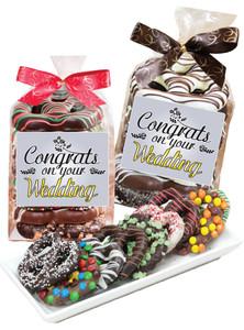 WEDDING GOURMET PRETZEL BAG