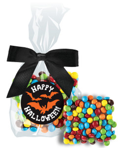HALLOWEEN CHOCOLATE GRAHAMS w/ MINI M&Ms