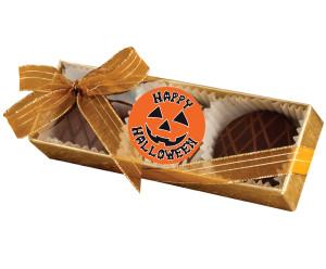 HALLOWEEN CHOCOLATE DRIZZLED OREO TRIO
