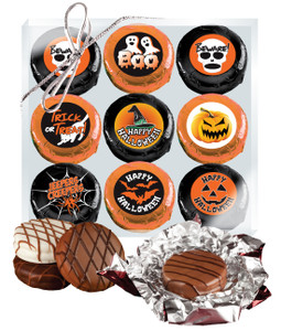 "HALLOWEEN ""COOKIE TALK"" CHOCOLATE OREO 9 PC BOX"