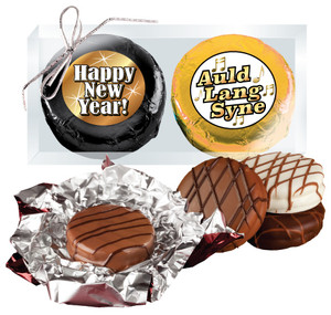 "HAPPY NEW YEAR ""COOKIE TALK"" CHOCOLATE OREO DUO"