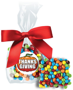THANKSGIVING CHOCOLATE GRAHAMS w/ MINI M&Ms