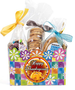 THANKSGIVING GIFT BASKET BOX OF GOURMET TREATS