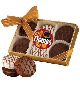 THANKSGIVING CHOCOLATE DRIZZLED OREO 6 Pk