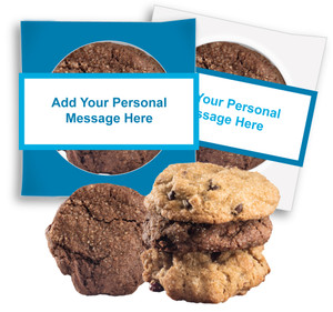 EMPLOYEE APPRECIATION CUSTOM 'CREATE-YOUR-OWN'  COOKIE SCONE SINGLES W/ CUSTOM MESSAGE
