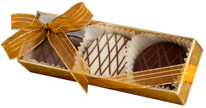 WEDDING CHOCOLATE DRIZZLED OREO TRIO