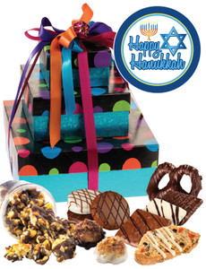 HANUKKAH  3 TIER TOWER OF TREATS