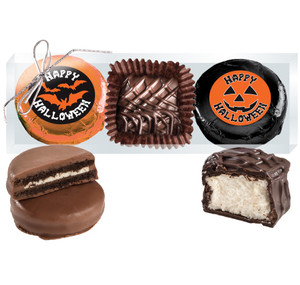 "HALLOWEEN  ""COOKIE TALK"" CHOCOLATE OREO & MARSHMALLOW TRIO"