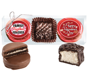 "VALENTINE'S DAY  ""COOKIE TALK"" CHOCOLATE OREO & MARSHMALLOW TRIO"