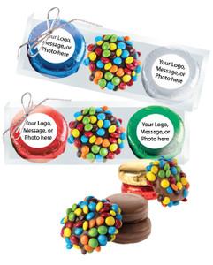 CHRISTMAS/HOLIDAY CUSTOM M&M CHOCOLATE OREO TRIO