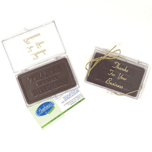 """""""THANK YOU FOR YOUR BUSINESS"""" Chocolate Gift Case"""
