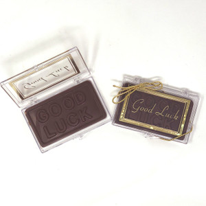 """GOOD LUCK!"" Chocolate Gift Case"