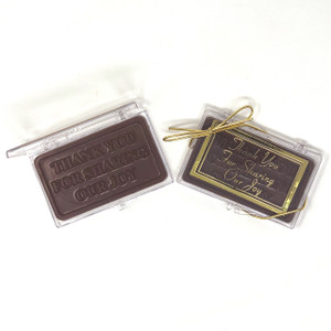 """THANK YOU FOR SHARING OUR JOY/ DAY!"" Chocolate Gift Case"