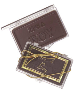 """ITS A BOY!"" Chocolate Gift Case"