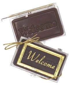 """""""WELCOME!"""" Chocolate Gift Case"""