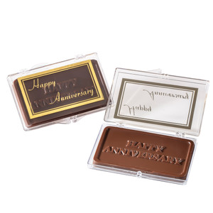 """HAPPY ANNIVERSARY!"" Chocolate Gift Case"
