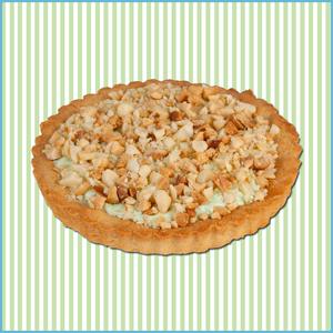 Key Lime Macadamia Cookie Pie