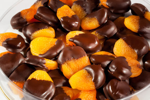 Chocolate Dipped Dried Apricot
