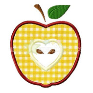 Sliced Apple Applique