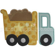 Dumptruck 2 Applique