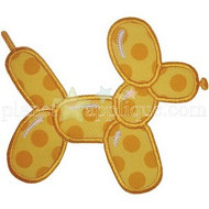 Balloon Doggie Applique