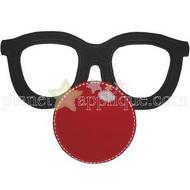 Clown Disguise Applique