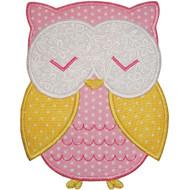 Cute Owl Applique
