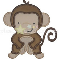 Little Monkey Applique