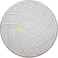 Volleyball Applique
